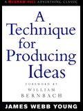 A Technique for Producing Ideas