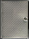 Metal Bible-NLT-Metal Diamond Plate