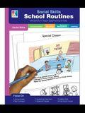 Social Skills Mini-Books School Routines