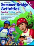 Summer Bridge Activities: 6th to 7th Grade