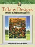 Creative Haven Tiffany Designs Stained Glass Coloring Book