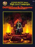 Dungeon Master Option: High-Level Campaigns - Advanced Dungeons & Dragons, Rulebook/2156