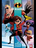 Disney/Pixar Incredibles and Incredibles 2: The Story of the Movies in Comics