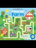 Maze Book: Follow Me Farm