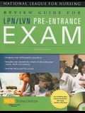 Review Guide for Lpn/LVN Pre-Entrance Exam [With CDROM]