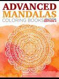 Advanced Mandalas Coloring Books Adults Fun Edition 4