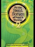 All the Best Songs of Praise & Worship 2, Stereo Accomp CD: More Contemporary Favorites