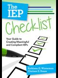 The IEP Checklist: Your Guide to Creating Meaningful and Compliant IEPs