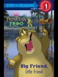 Big Friend, Little Friend (Disney Princess) (Step into Reading)