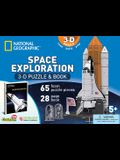 National Geographic Space Exploration: 3D Puzzle and Book [With Book(s)]