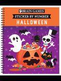 Brain Games - Sticker by Number: Halloween