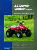 All Terrain Vehicle 1974-1987: Maintenance Manual (All-Terrain Vehicles Maintenance Manual) (All Terrain Vehicle Service Manual 1974-1987)