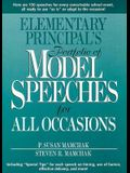 Elementary Principal's Portfolio of Model Speeches for All Occasions