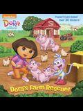 Dora's Farm Rescue! (Dora the Explorer) (Super Deluxe Pictureback)