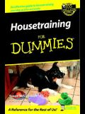Housetraining For Dummies (For Dummies (Lifestyles Paperback))