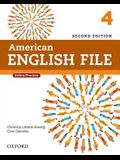 American English File Second Edition: Level 4 Student Book: With Online Practice