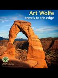 Art Wolfe 2017 Wall Calendar: Travels to the Edge