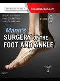 Mann's Surgery of the Foot and Ankle, 2-Volume Set: Expert Consult: Online and Print