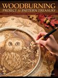 Woodburning Project & Pattern Treasury: Create Your Own Pyrography Art with 70 Mix-And-Match Designs