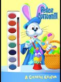 A Colorful Easter (Peter Cottontail) [With Brush & Paints]