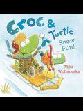 Croc & Turtle: Snow Fun!