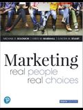 Mylab Marketing with Pearson Etext -- Access Card -- For Marketing: Real People, Real Choices