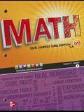 Math, Course 3, Vol. 1 (Common Core Edition) (MATH APPLIC & CONN CRSE)