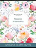 Adult Coloring Journal: Cocaine Anonymous (Mythical Illustrations, La Fleur)