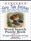 Circle It, Fairy Tale Entities, Word Search, Puzzle Book