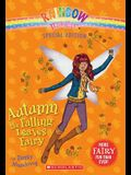 Autumn the Falling Leaves Fairy