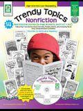 Trendy Topics: Nonfiction [With CDROM]