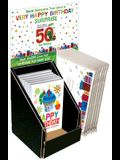 Happy Birthday Vhc 6 Copy Counter Display with Envelopes