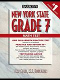 Barron's New York State Grade 7 Math Test