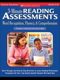 3-Minute Reading Assessments Prehension: Word Recognition, Fluency, & Comprehension