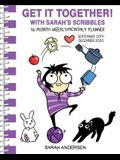 Sarah's Scribbles 16-Month 2019-2020 Monthly/Weekly Planner Calendar