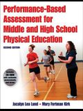 Performance-Based Assessment for Middle and High School Physical Education [With CDROM]