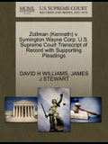 Zollman (Kenneth) V. Symington Wayne Corp. U.S. Supreme Court Transcript of Record with Supporting Pleadings