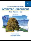 Grammar Dimensions 1: Form, Meaning, Use