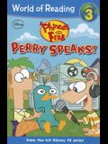 Phineas and Ferb Reader #2: Perry Speaks! (Ph