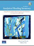Analytical Reading Inventory: Comprehensive Standards-Based Assessment for All Students Including Gifted and Remedial [With CDROM]