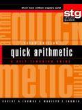 Quick Arithmetic: A Self-Teaching Guide