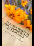 12 Power Principles for Administrative Professionals