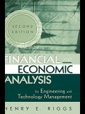 Financial and Economic Analysis for Engineering and Technology Management