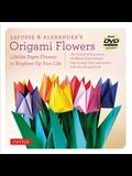 Lafosse & Alexander's Origami Flowers Kit: Lifelike Paper Flowers to Brighten Up Your Life: Kit with Origami Book, 180 High-Quality Origami Papers, 20