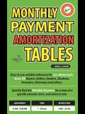 Monthly Payment Amortization Tables for Small Loans: Simple and Easy to Use Reference for Car and Home Buyers and Sellers, Students, Investors, Car De