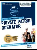 Private Patrol Operator, Volume 4208