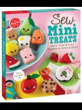 Sew Mini Treats: More Than 18 Food Plushies to Stitch and Stuff