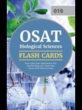 OSAT Biological Sciences Flash Cards Book 2019-2020: Rapid Review Test Prep Including 350+ Flashcards for the CEOE OSAT 010 Exam