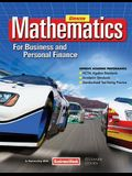 Mathematics for Business and Personal Finance, Student Edition