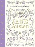 Classic Coloring: Jane Austen (Adult Coloring